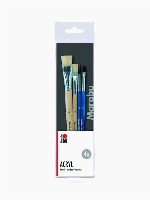 Marabu Acrylics brush set