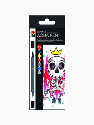 Marabu Aqua Pen Graphix, KING OF BUBBLEGUM