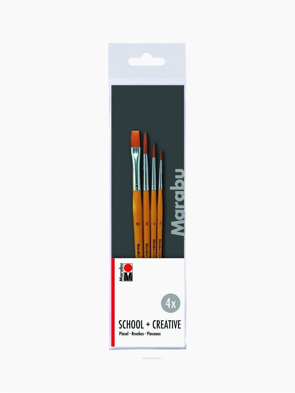 Marabu Creativ + School brush set