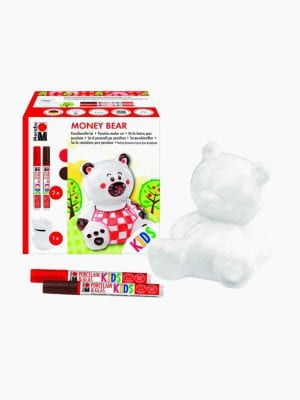 Marabu Money Box Set Money Bear