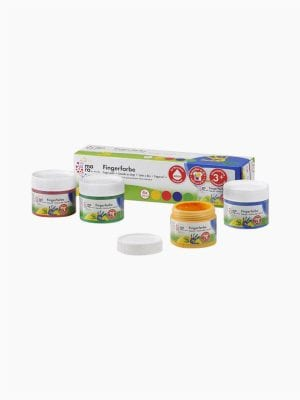 Mara Finger paint assortment of 4