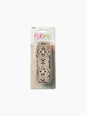 Fabric Creation Print Block Bdr Lace
