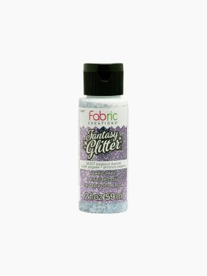 Fabric Creations Fantasy Glitter - Pegasus Purple