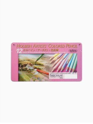 Holbein Pastel Tone Set of 12 Colors