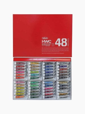 Holbein Artists' Watercolors Set of 48 Colors