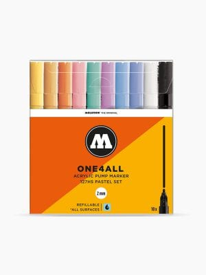 MOLOTOW 127HS Pastel-Set - 2mm, Pkt of 10