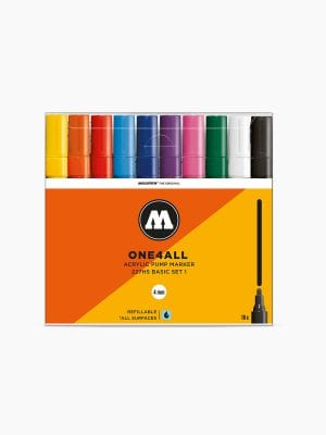 MOLOTOW 227HS Basic-Set 1 - 4mm, Pkt of 10