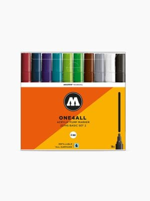 MOLOTOW™-227HS-Basic-Set-2---4mm,-Pkt-of-10