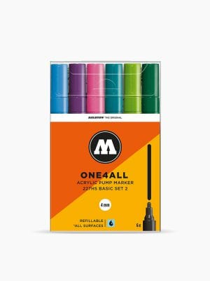 MOLOTOW™-227HS-Basic-Set-2---4mm,-Pkt-of-6