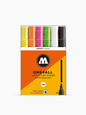 MOLOTOW 227HS Neon-Set - 4mm, Pkt of 6