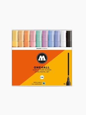 MOLOTOW 227HS Pastel-Set - 4mm pkt of 10