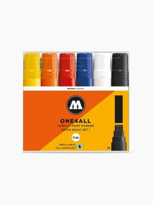 MOLOTOW 627HS Basic-Set 1 - 15mm pkt of 6