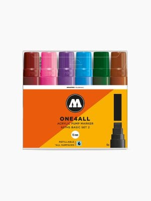 MOLOTOW 627HS Basic-Set 2 - 15mm pkt of 6