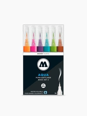 MOLOTOW GRAFX Aqua Ink Basic-Set 2