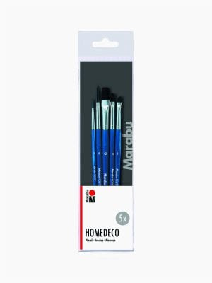 Marabu Homedeco brush set