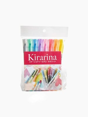Kirakira 2Win Scented Bicolor Twin Marker 8 Color Set