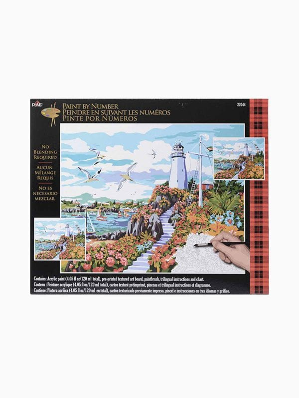 Plaid Pbn Coastal Prds 16X20 24Pp