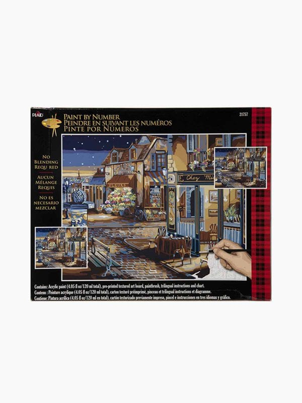 Plaid Pbn-Starry Night 16X20-24Pp